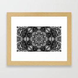 Eight Aisles of Seating Framed Art Print