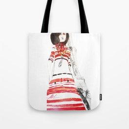 Paris 70's Tote Bag