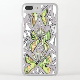 Iterations Clear iPhone Case