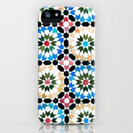 Oriental pattern iPhone Case