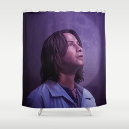 Call on your power animal Shower Curtain