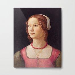 Italian Art Print Metal Print