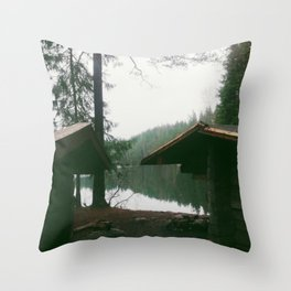 Ånnaboda nature reserv, Örebro, Sweden Throw Pillow