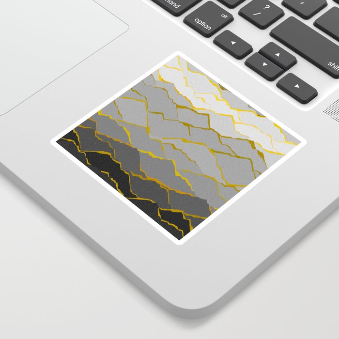 Kintsugi Sticker