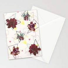 Spatial Succulents #redbubble #decor #buyart Stationery Cards