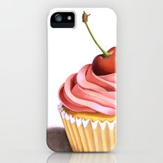 The Perfect Pink Cupcake iPhone (5, 5s) Slim Case