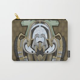 Claddagh Hawk - Celtic Inspired Art Deco Carry-All Pouch