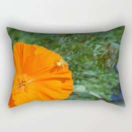 Crab Spider Rectangular Pillow