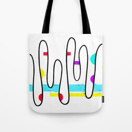 A few dots; A few lines Tote Bag