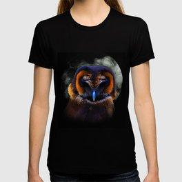 Chouette Sous La Lune / Owl Under The Moon T-shirt
