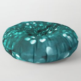 Sparkling OCEAN Glitter #1 #shiny #decor #art #society6 Floor Pillow