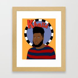 Khalid Framed Art Print