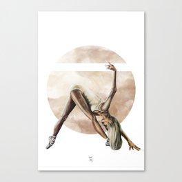 Aquarelle Ballerina 06 Canvas Print