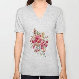 """Eternal spring"" - The bouquet Unisex V-Neck"