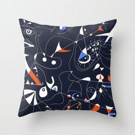 Joan Mirò #6 Throw Pillow