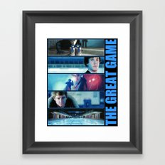 The Great Game Framed Art Print