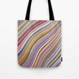 Wild Wavy Lines VI Tote Bag