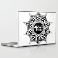 brasil Laptop & iPad Skins featuring Maia Brasil by Splund