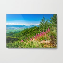 Park City Utah Landscape Photography Gifts Metal Print