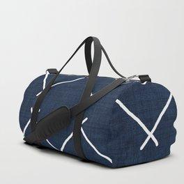 Bath in Navy Duffle Bag