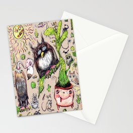 Damn it's hot! Stationery Cards