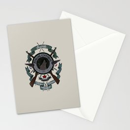 Sgt Bucky Barnes (blue) Stationery Cards