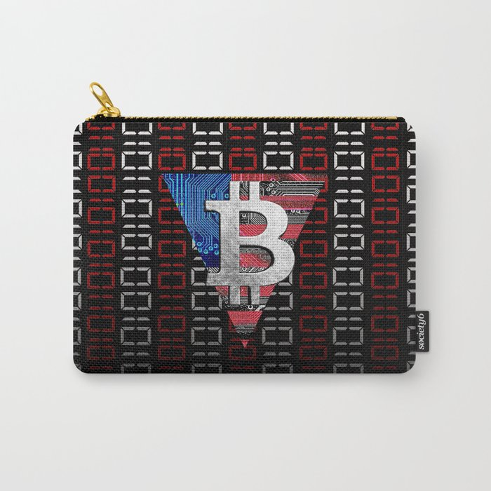 bitcoin USA  Carry-All Pouch