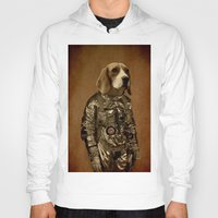 beagle Hoodies featuring Beagle by Durro