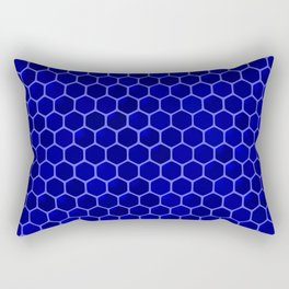 blue beehive Rectangular Pillow