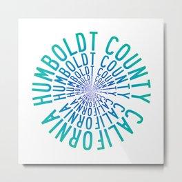 Humboldt County California Metal Print