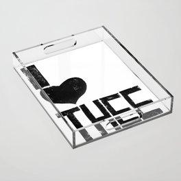I heart Thee  Acrylic Tray