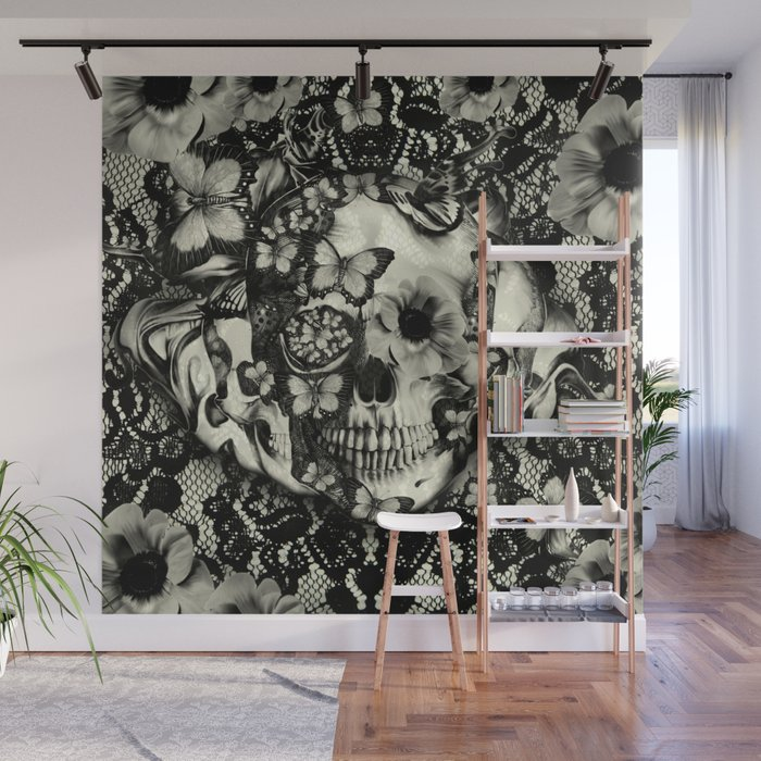 . Victorian Gothic Wall Mural by kristypattersondesign