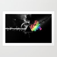 floyd Art Prints featuring Pink Floyd by Akamsa