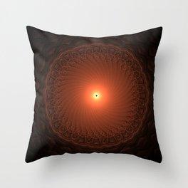 Mini Eclipse Throw Pillow