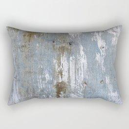 Abstract Rusty Grunge Metal Rectangular Pillow