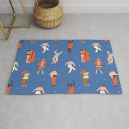 All Night Dance Party Rug