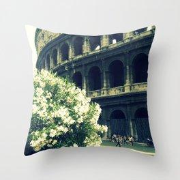 Summer in the Center Throw Pillow