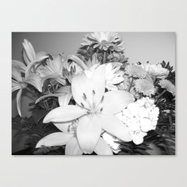 Stop n smel the flowers Canvas Print