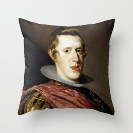 King Philip of Spain portrait Throw Pillow