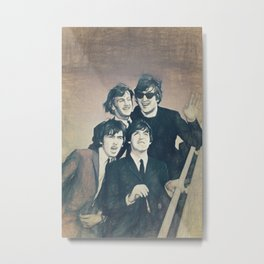 Beatle - John, Paul, George, and Ringo Metal Print