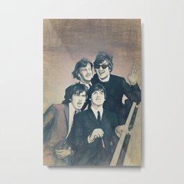 Beatle - John, Paul, George, and Ringo Metal Print