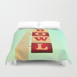 Bowl! Duvet Cover