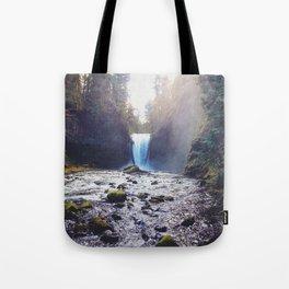 Oregon Waterfall Tote Bag