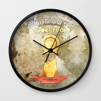 tool Wall Clocks featuring Omni Tool by AngoldArts