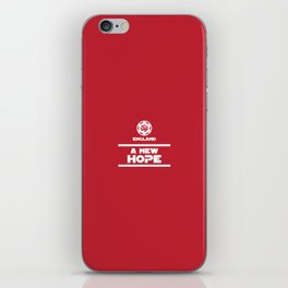 England Rugby - A New Hope iPhone Skin