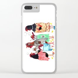 PTA Meeting Clear iPhone Case