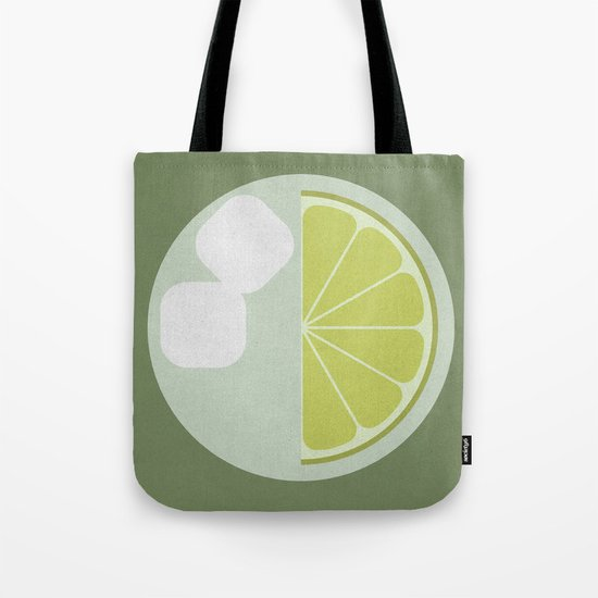 Time for a Drink (clock18) Tote Bag