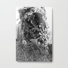 Angel in the ivy Metal Print