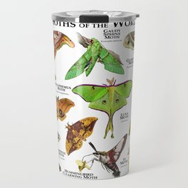 Moths of the World Travel Mug