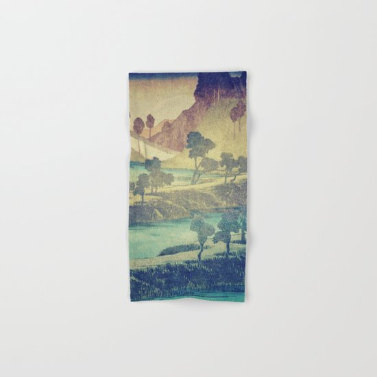 A Valley in the Evening Hand & Bath Towel